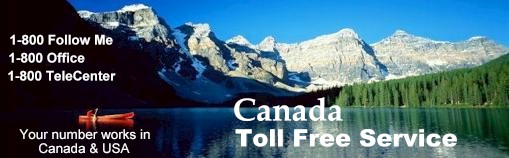 Canadian toll free number Canada